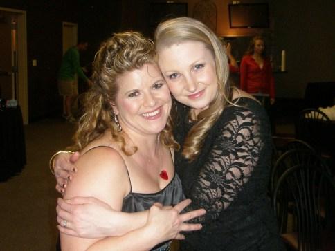 Michele and I